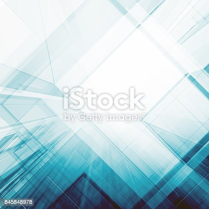 692868922 istock photo Abstract architecture background 3d rendering 845848978