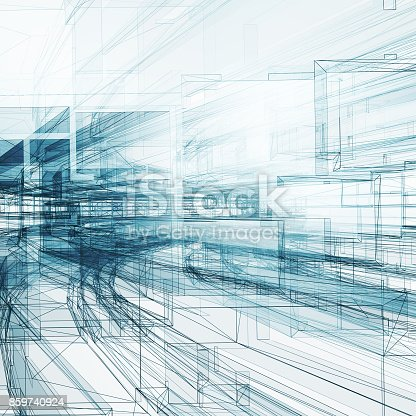 692868922 istock photo Abstract architecture background 3d rendering 859740924