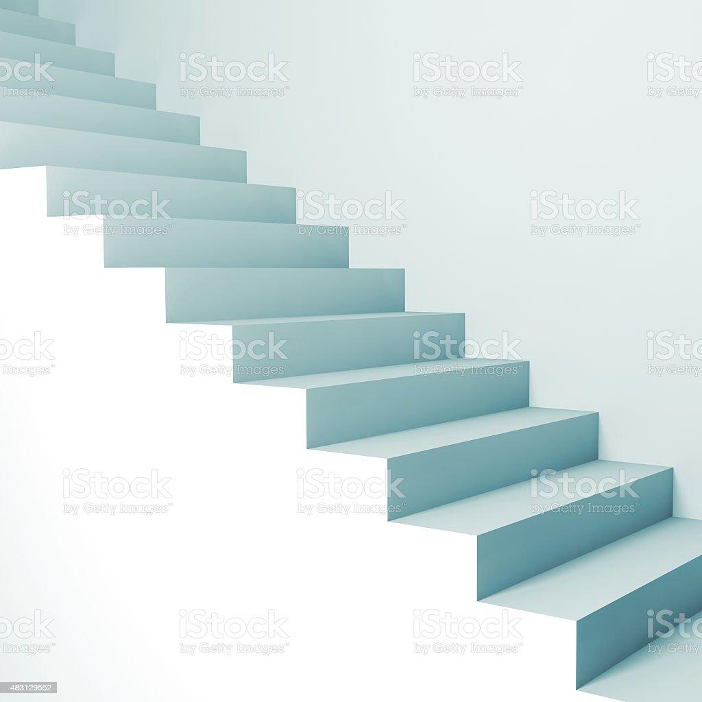 Abstrakt Architektur Hintergrund. 3d Treppe – Foto