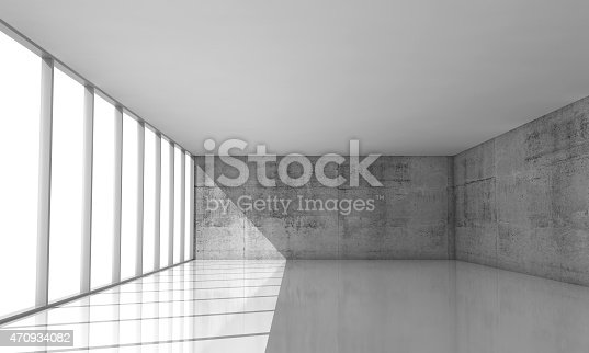 470934084 istock photo Abstract architecture background, empty white interior 470934082