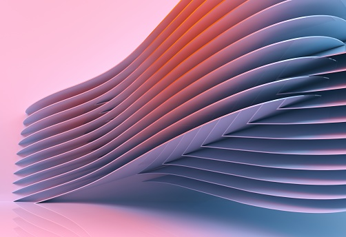 istock abstract architecture background multicolor - 3d rendering 926309124