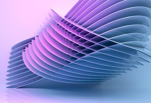 istock abstract architecture background multicolor - 3d rendering 926309130