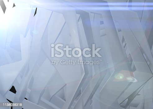 926309124 istock photo Abstract architecture background multicolor 1138038318