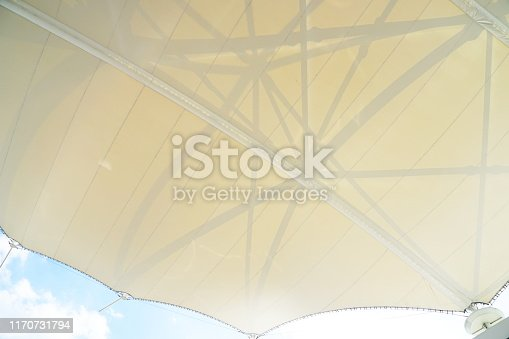 Rooftop, Stadium, Metal, Built Structure, Steel