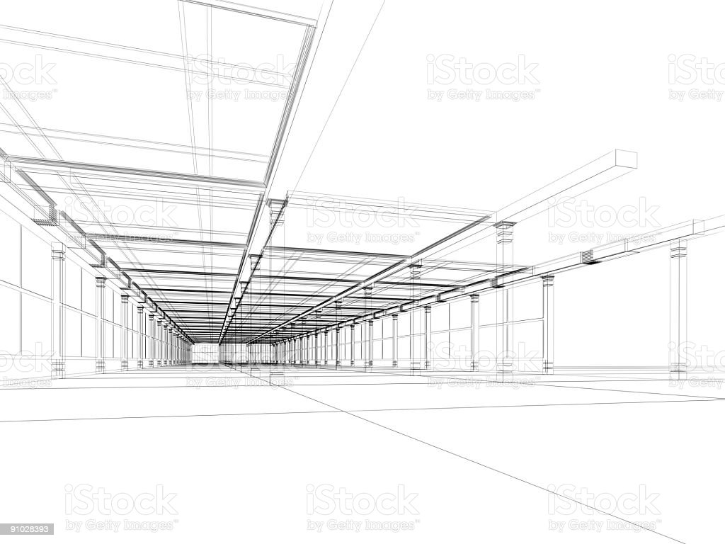 abstract architecture construction stock photo