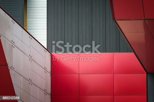 868153090 istock photo Abstract architecture detail 685242044