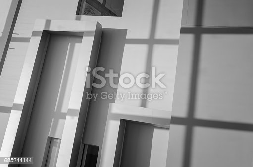 868153090 istock photo Abstract architecture detail 685244144