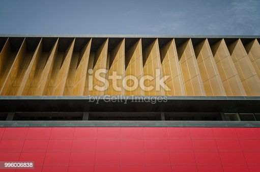868153090 istock photo Abstract architecture detail 996006838
