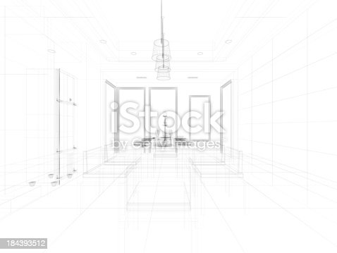 184393512 istock photo abstract architecture  Kitchen 7 184393512