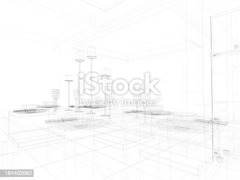 184393512 istock photo abstract architecture  Kitchen 8 184403562