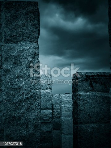 639291528istockphoto Abstract architecture 1057027018