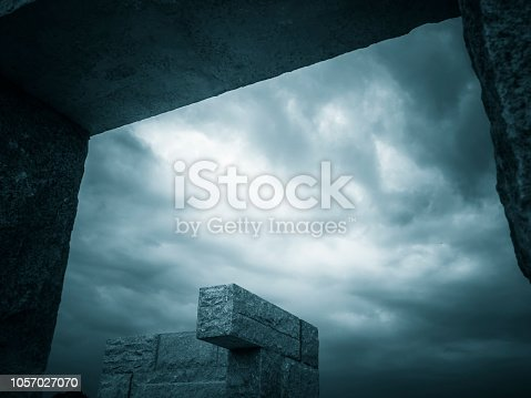 639291528istockphoto Abstract architecture 1057027070