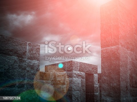 639291528istockphoto Abstract architecture 1057027124