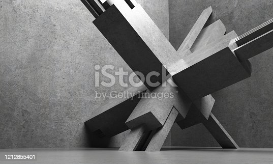 639291528 istock photo Abstract architecture 1212855401