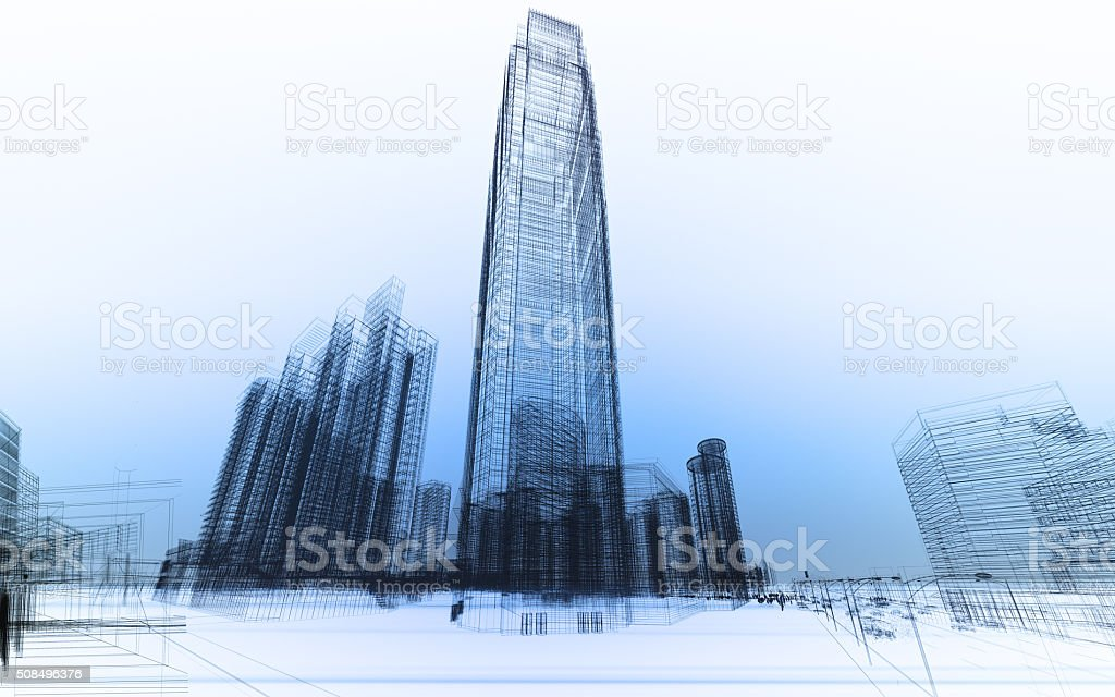 abstract architecture foto