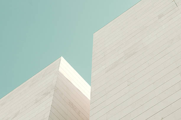 Abstract architecture. stock photo