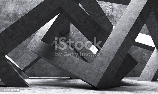 istock Abstract architecture 639291528