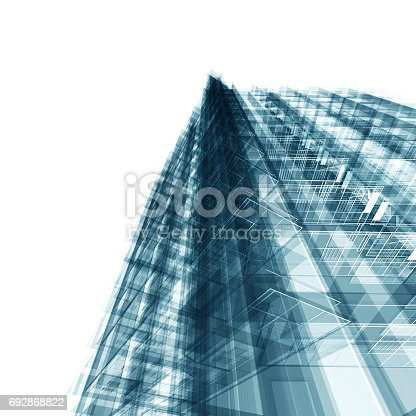 692868922 istock photo Abstract architecture 692868822