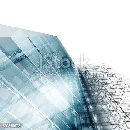 692868922 istock photo Abstract architecture 692868972