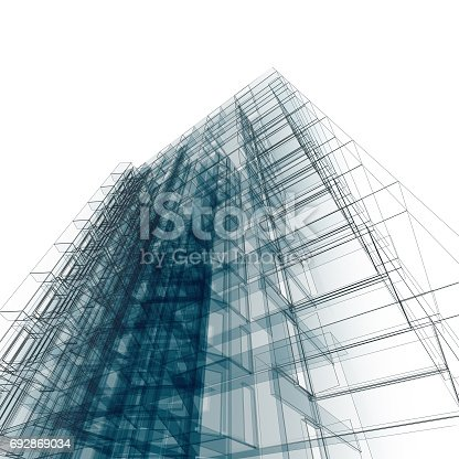 692868922 istock photo Abstract architecture 692869034
