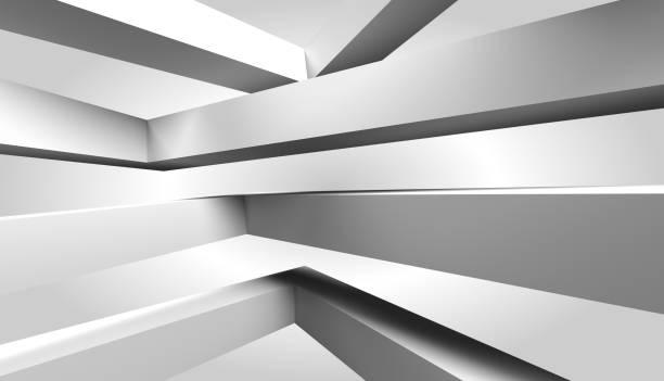 抽象的體系結構 - black and white pattern 個照片及圖片檔