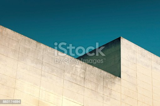istock Abstract architecture. 883174694