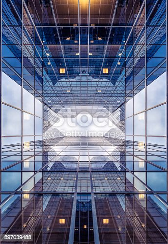 istock Abstract architecture 897039488