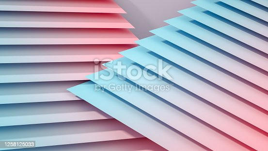 926309126 istock photo 3D Abstract Architecture, Slice, Layer Background 1258125033