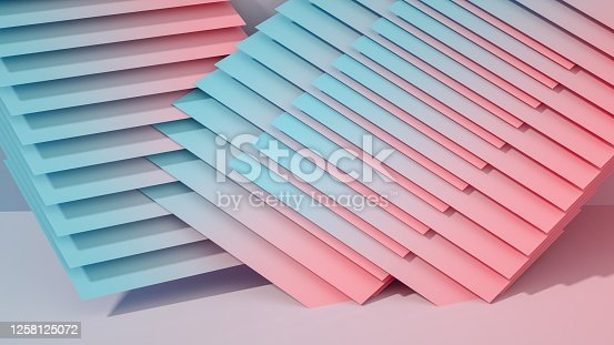 926309126 istock photo 3D Abstract Architecture, Slice, Layer Background 1258125072