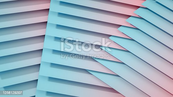 926309126 istock photo 3D Abstract Architecture, Slice, Layer Background 1258125207