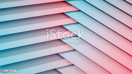 926309126 istock photo 3D Abstract Architecture, Slice, Layer Background 1258125290