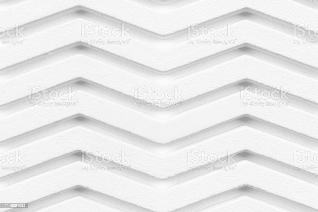 Abstract architecture white and gray wavy pattern with curved lines...