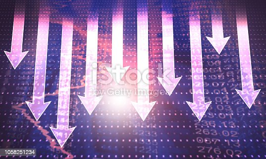 1144228509 istock photo Abstract arrow background 1058251234