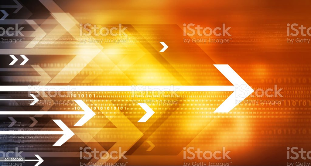 Abstract Arrow Background - foto stock