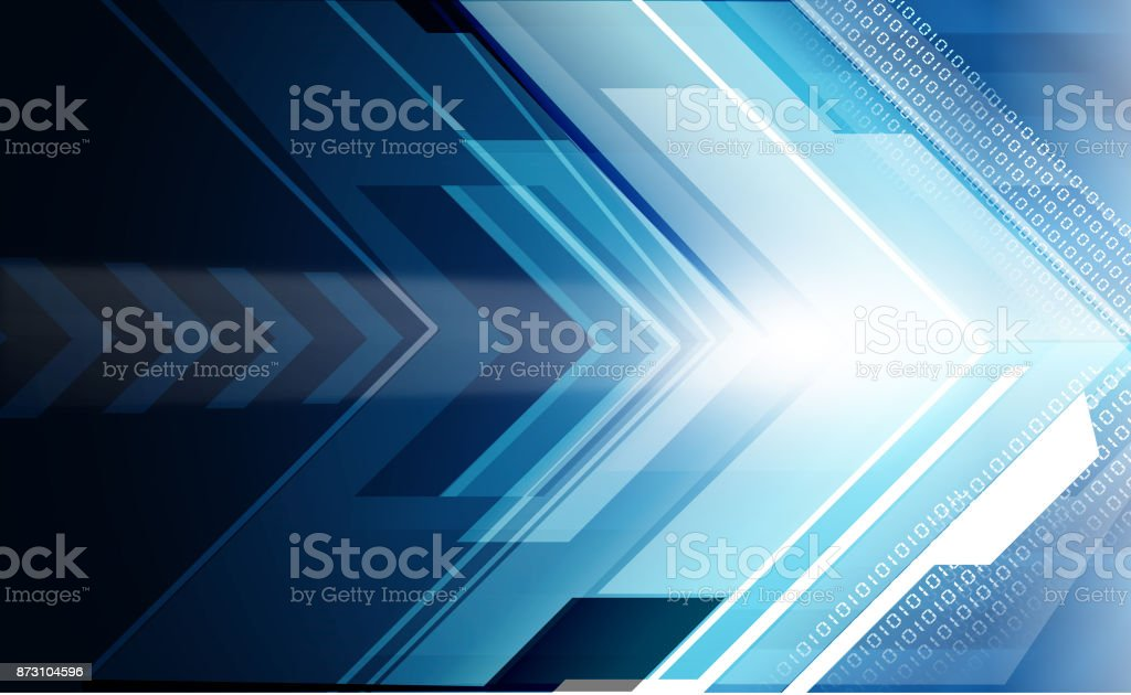 Abstract arrows stock photo