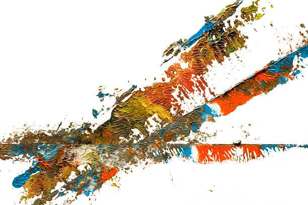 Abstract art at macro stock photo