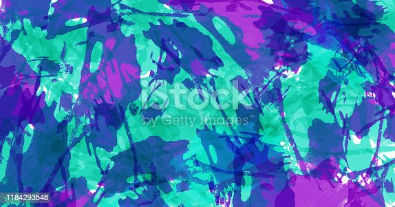 467414017 istock photo Abstract art background. Colorful grunge texture. Brushstrokes of paint. Paint splashes. Modern painting. Contemporary art. 1184293548