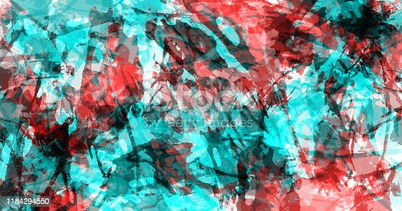 467414017 istock photo Abstract art background. Colorful grunge texture. Brushstrokes of paint. Paint splashes. Modern painting. Contemporary art. 1184294550