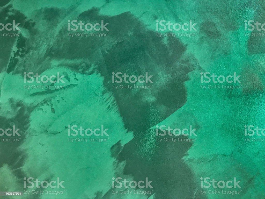 Couleur Vert Emeraude Foncé photo libre de droit de fond abstrait dart couleur vert