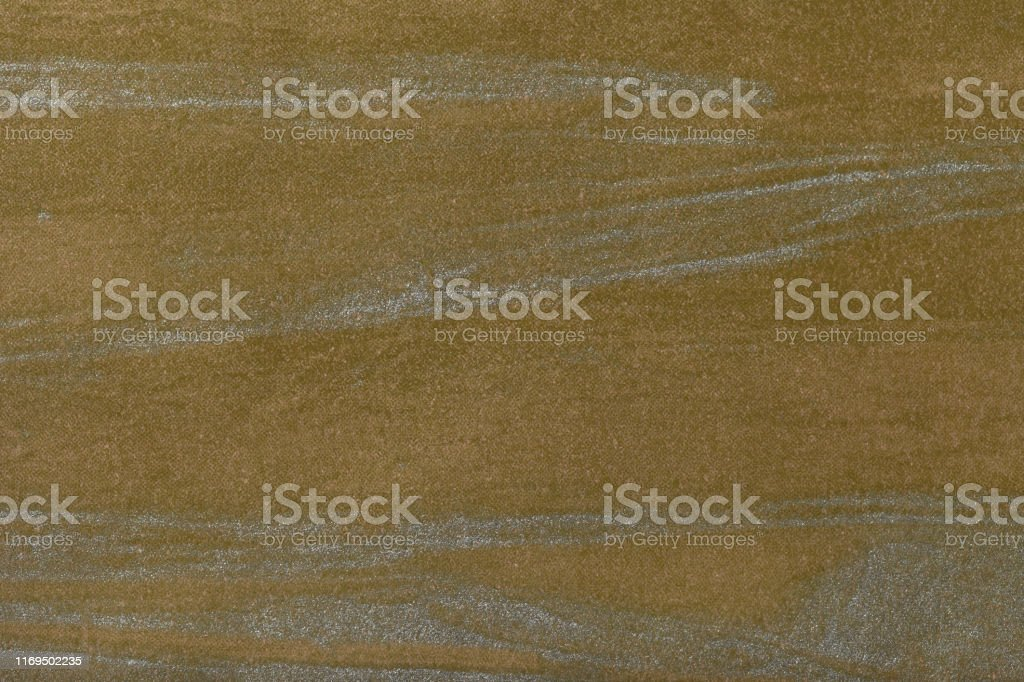 Abstrakte Kunst Hintergrund Dunkle Olive Mit Silbernen Farbe Multicolormalerei Auf Leinwand Stockfoto Und Mehr Bilder Von Abstrakt Istock