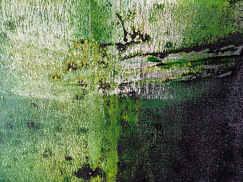 523169768 istock photo Abstract art background green and black colors. 1002872288