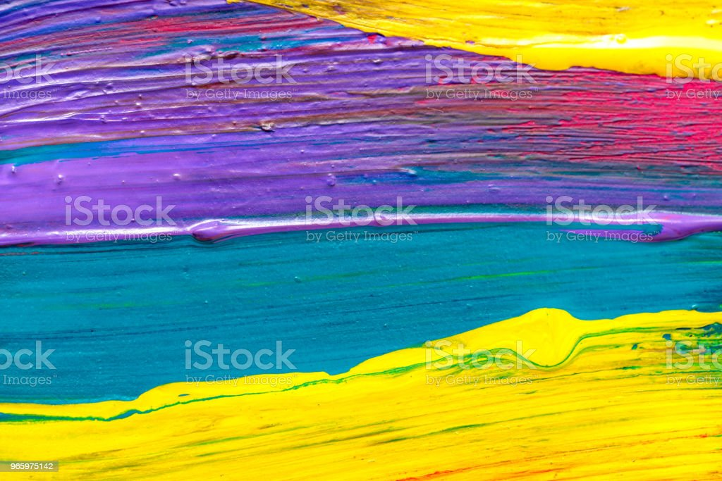 Abstract art background. Hand-painted - Royalty-free Abstract Stock Photo