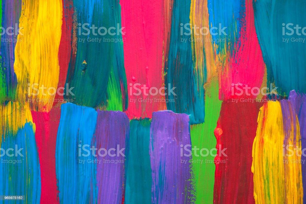 Achtergrond van de abstracte kunst. Handgeschilderde - Royalty-free Abstract Stockfoto
