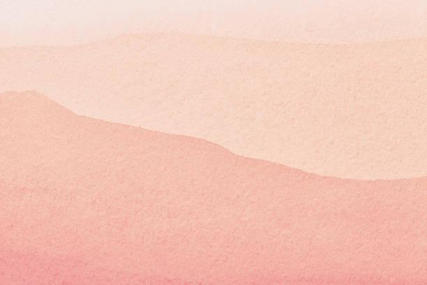 abstrakcyjne tło sztuki jasnoróżowe i koralowe kolory. malowanie akwareli na płótnie z gradientem. - pastelowy kolor zdjęcia i obrazy z banku zdjęć