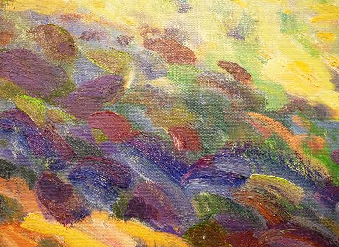 1084390994 istock photo Abstract art background oil paint brush strokes. 1224748642