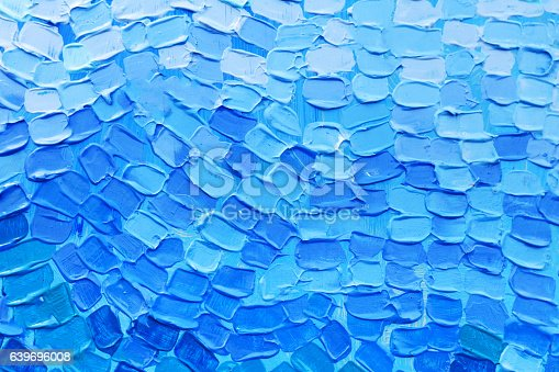 istock Abstract art background. Oil painting on canvas. 639696008