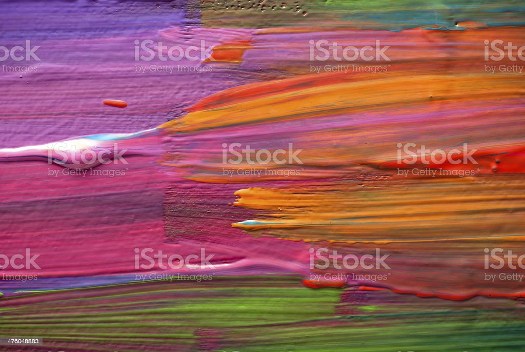 Abstract art backgrounds. Hand-painted background royalty-free stock photo