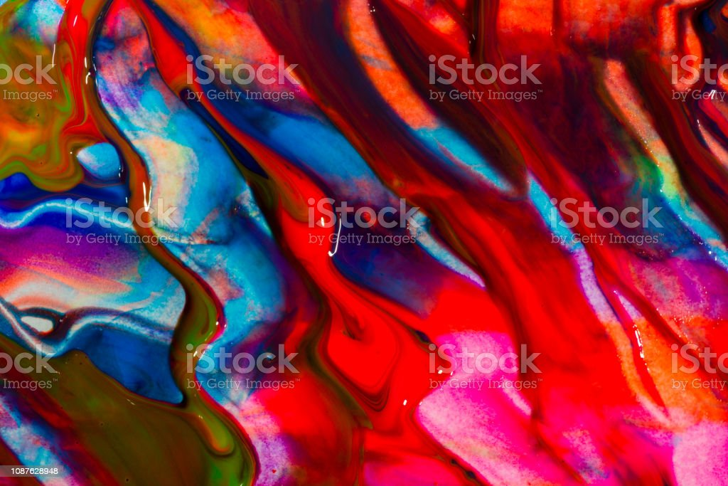 Abstract Art Colourful Background Handpainted Background