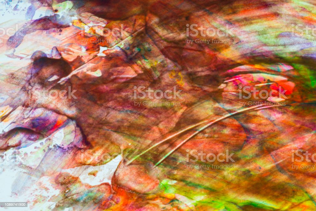 Abstract Art Colourful Background Handpainted Background Image Stock Photo Download Image Now