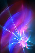 Abstract art fractal background